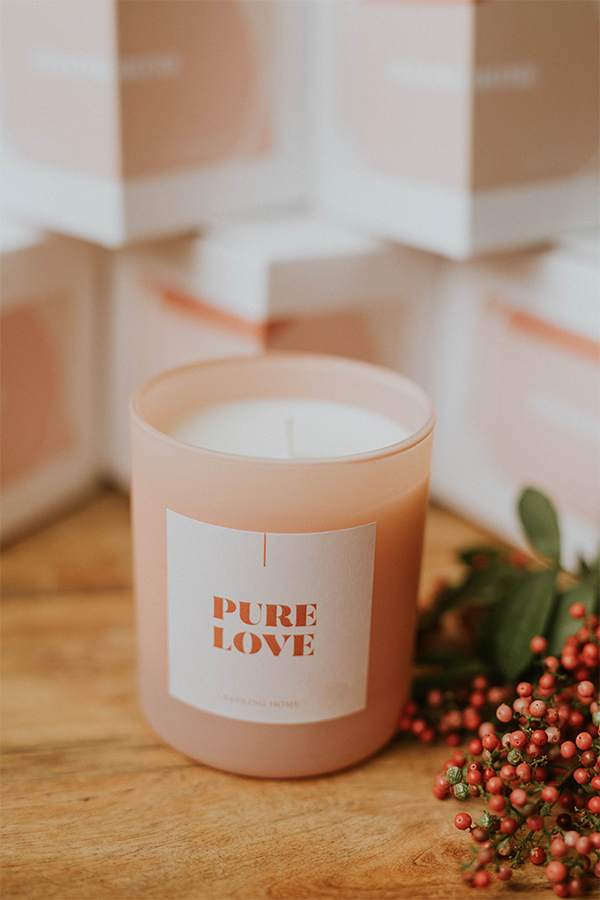 Velas Purelove The Shop